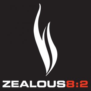 zealous82 logo outline reverse